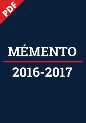 Memento-cd77-2016-2017