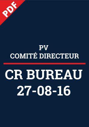 CR Bureau - 27/08/2016