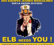 AFFICHE RECHERCHE COACHS ELB 2019-2020