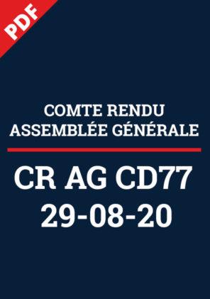 CR AG77 2020