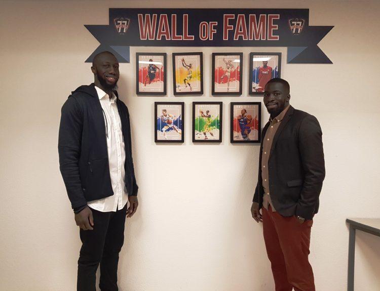Sambou Traoré et Amadou Diop