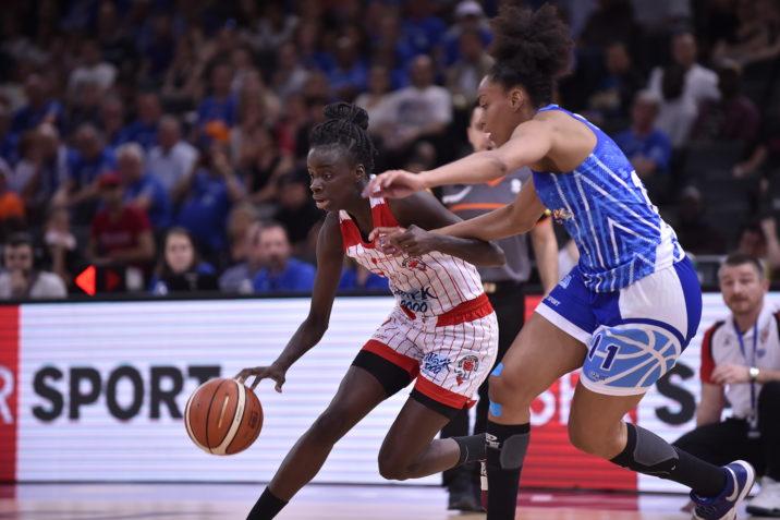 Trophée Coupe de France féminin 2018FinaleBC La Tronche Meylan-Aulnoye AS