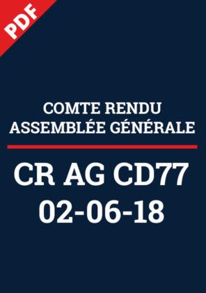CR AG77 2018