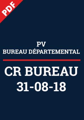 PV Bureau Départemental 30-08-18